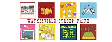 Waynesville Street Faire - July 18, 2020