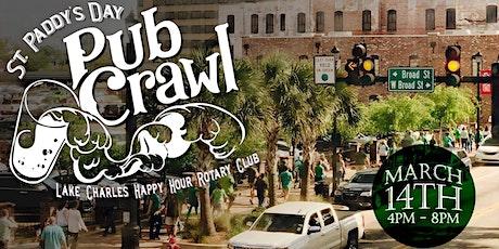 St. Paddy's Day Pub Crawl - A Lake Charles Happy Hour Rotary Original tickets