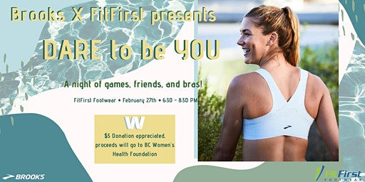 Brooks x FitFirst Bra Night