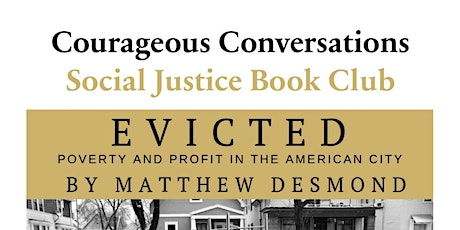 Cancelled- Social Justice Book Club: Evicted -Week 2 tickets