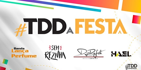 # TDD A Festa - 3.0 tickets