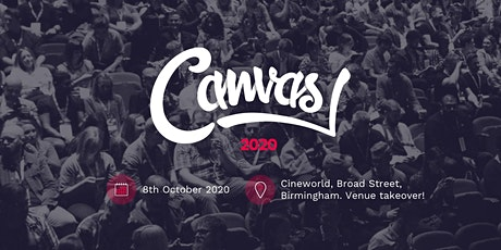 Canvas 2020 tickets