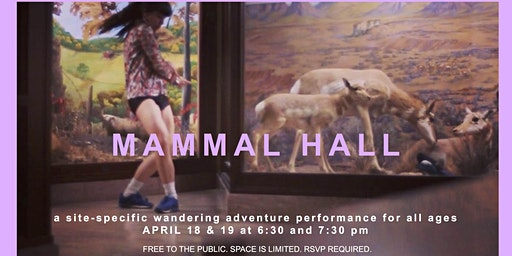 MAMMAL HALL - a site-specific performance