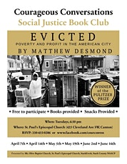 Social Justice Book Club: Evicted -Week 5 tickets