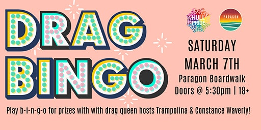 Drag Bingo w/Hull Gay Pride
