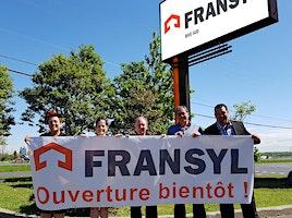 ÉVÉNEMENT OUVERTURE SUCCURSALE FRANSYL RIVE-SUD !