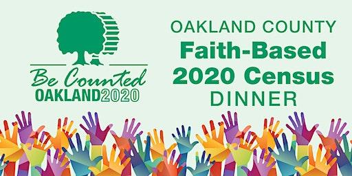 Oakland County Faith-Based Census 2020 Dinner