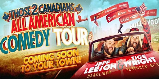 All American Comedy Tour with Jeff Leeson at Tackle Box | Chico CA