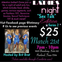 "Ladies Night ""Sex Talk"" Edition Series 2"