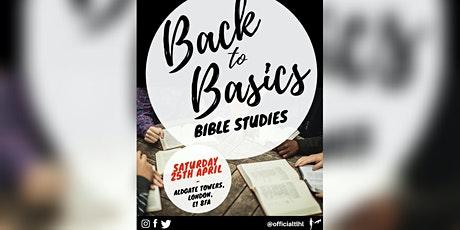 BIBLE STUDY 'Back to Basics' tickets