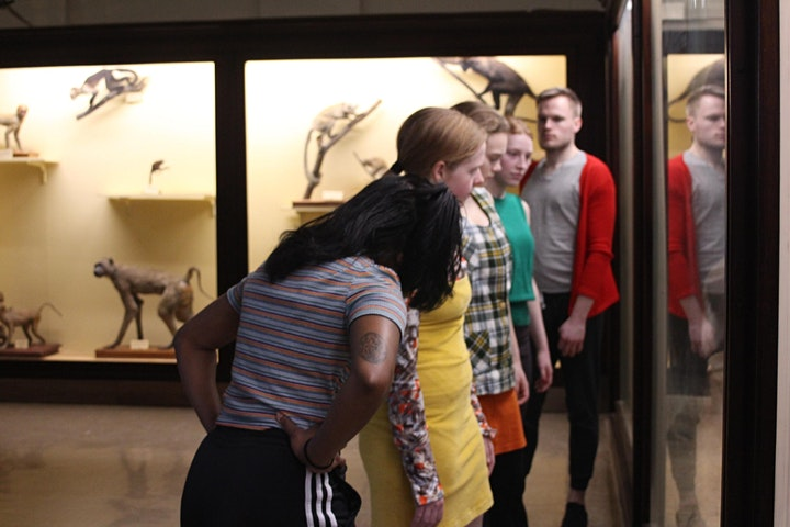 MAMMAL HALL - a site-specific performance image