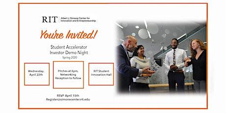 RIT - Student Accelerator Investor Demo Night tickets