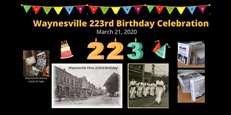 Waynesville Ohio 223rd Birthday Celebration & Ohio History Month tickets