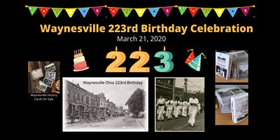 Waynesville Ohio 223rd Birthday Celebration & Ohio History Month