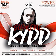 SUPREME KYDD ANNUAL BIRTHDAY BASH tickets