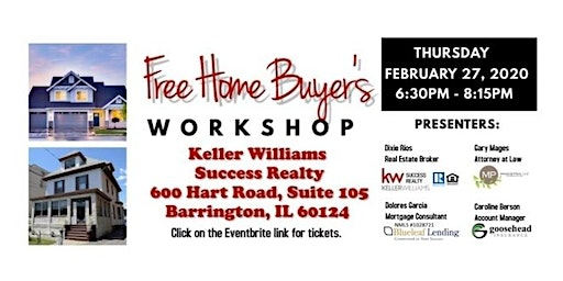 FREE First Time Home Buyers Workshop - Food & Beverage Provided