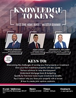 Knowledge to Keys - First Time Home Buying Seminar