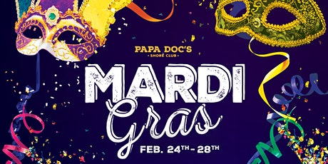 Papa Doc's Mardi Gras Celebration tickets