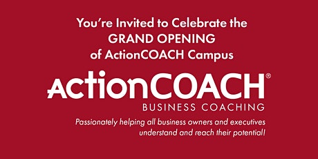 Come learn more about ActionCOACH Business Coaching tickets