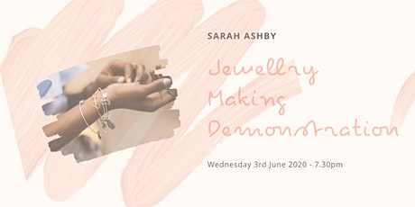 Sarah Ashby Jewellery Demonstration - West Moor Wonders WI June Meeting tickets