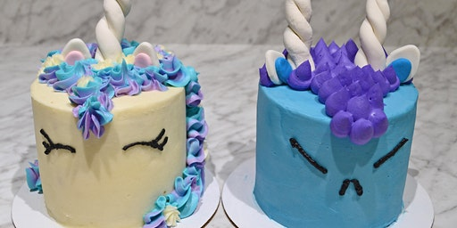 Unicorn vs Monster Cake Class