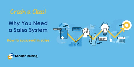 Why You Need a Sales System - Crash a Class in Delray Beach tickets