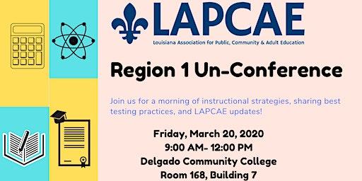 LAPCAE Region 1 Unconference