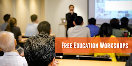 LIVE & ONLINE - Free Education Workshop - Transition to Adulthood tickets