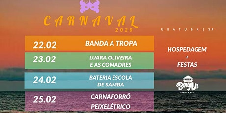 Carnaval Bagus - Domingo 23/02 ingressos