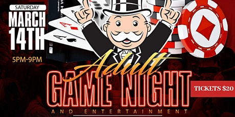 Adult Game Night & Entertainment tickets