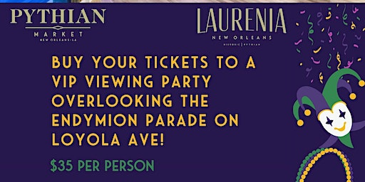 Endymion VIP Viewing Party