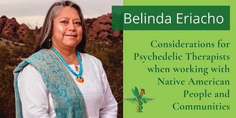 Considerations for Psychedelic Therapists Working w Native American People tickets