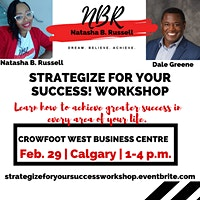 Strategize for your Success! Workshop