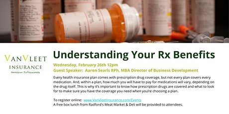 Understanding Your Rx Benefits tickets
