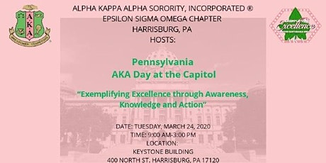 2020 Pennsylvania AKA Day at the Capitol  tickets