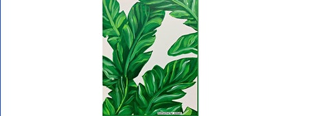 Calming Palms Canvas Painting Workshop- Buford