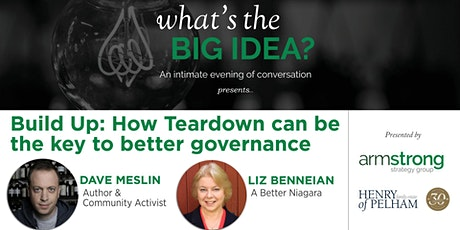 What's The Big Idea - Build Up: How Teardown can be the key to better governance tickets