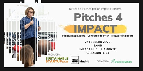 PITCHES 4 IMPACT entradas
