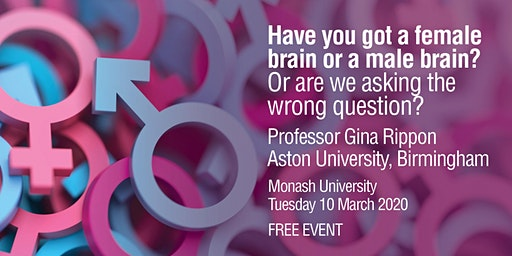 Have you got a female brain or a male brain? Or are we asking the wrong question?