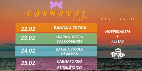 Carnaval Bagus - Segunda 24/02 ingressos