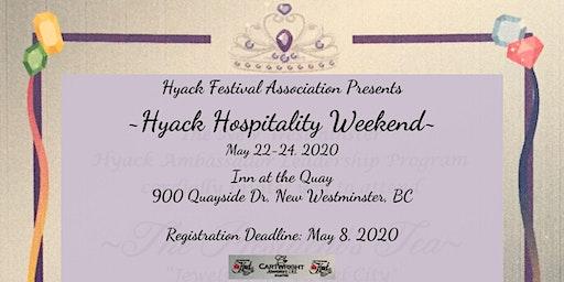 2020 Hyack Festival Association Hospitality Weekend