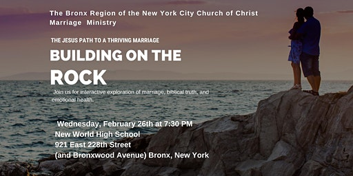 Building On The Rock: A Christian Marriage Workshop