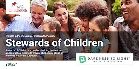 Stewards of Children Training tickets