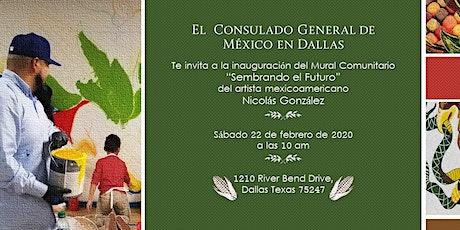 Sembrando el Futuro: Inauguración del Mural Comunitario. tickets