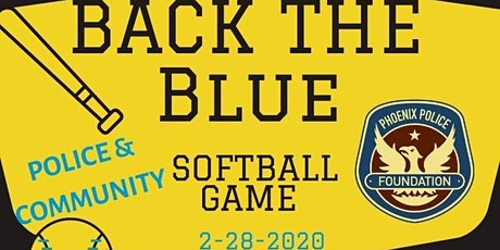 Back The Blue Softball Game tickets