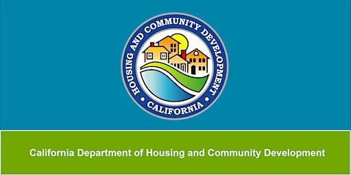 HCD 2020-2024 Fair Housing Public Meeting - San Luis Obispo, CA