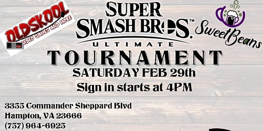 Super Smash Brothers Ultimate Tournament