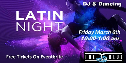 Latin Night with Live DJ and Dancing