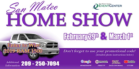 San Mateo Home Show tickets