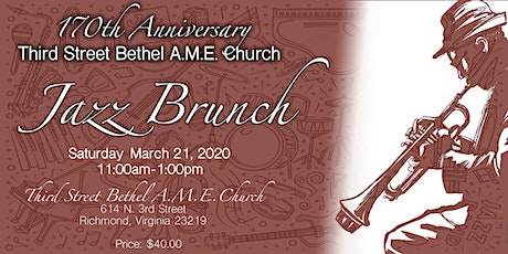 Third Street Bethel A.M.E. Church Jazz Brunch tickets